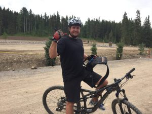 Bragg Creek riding with Byron